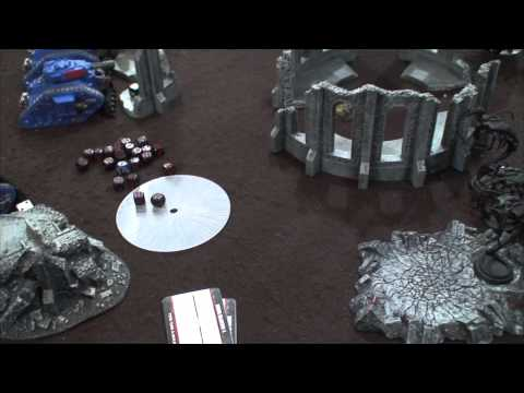 TBMC - HD Video Batrep - 1500 Necrons Vs Imperial Guard
