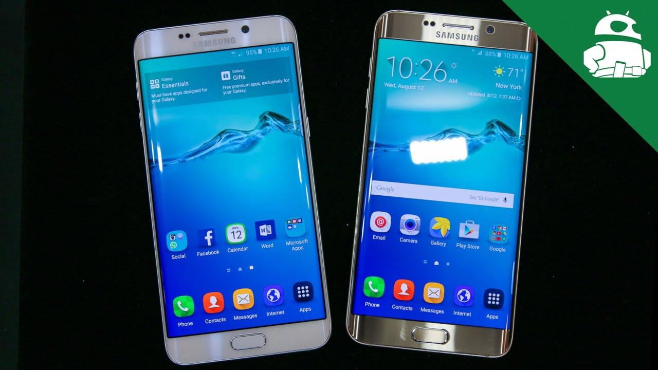 ¡Samsung Galaxy S6 borde + primera mirada!