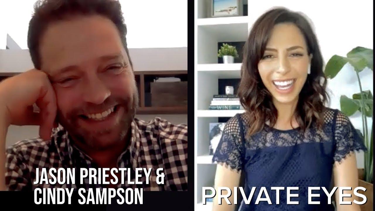 Download Jason Priestley & Cindy Sampson on Private Eyes Season 5
