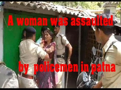 How Senior Patna Cop Treated A Woman Is Caught On Camera| ANN 24X7