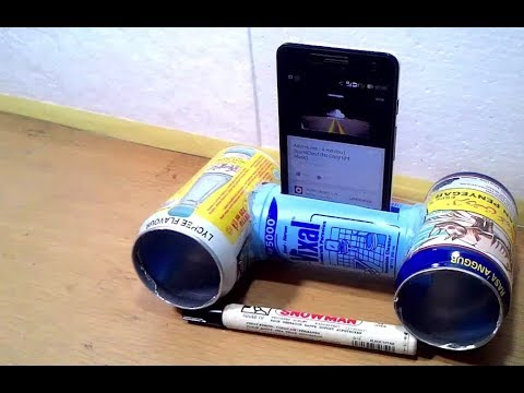 Cara Membuat Speaker Kaleng Dari Botol Plastik Dan Kaleng Bekas Minuman