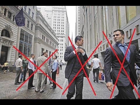 Вранье о Wall Street. Где все трейдеры?  Уолл стрит, русские в Америке