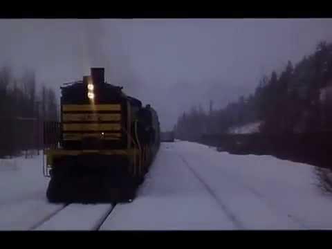 RUNAWAY TRAIN First Crash