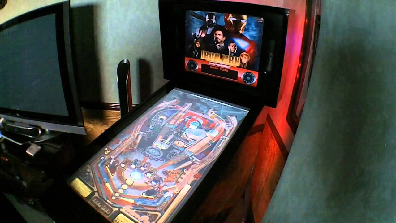 Virtual Pinball Cabinet Home Built In Uk Youtube