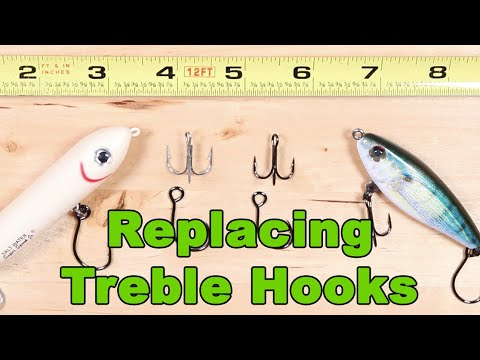 How To Choose The Perfect Size Inline Hook To Replace Treble Hooks