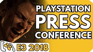 PlayStation E3 2018 Press Conference and Pre & Post-show chat