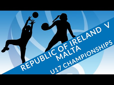 Republic of Ireland v Malta l Netball Europe U17 Challenge 2016