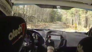 InCar Rally Gotland SS5 2016 - Christoffer Jacobsson