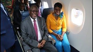 Rais Magufuli Alivyowashtukiza Abiria Kwenye Ndege Mpya