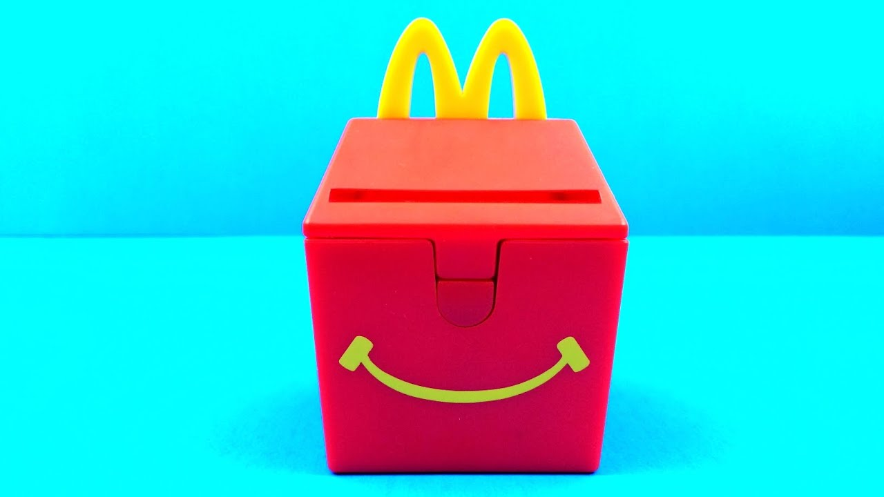 Favori Happy Meal Box 1999 McDonald's Food Foolers Toy #1 Complete Set of  GD33