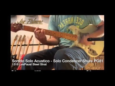 Jay Palmero Steel Guitars - 1318 Les Paul Steel Strat -  Acustic Sound