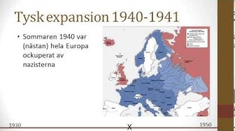Vad är grejen med andra världskriget?