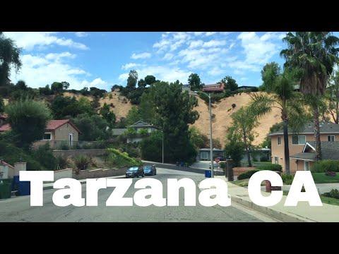 🔴  Tarzana Driving Tour 4K