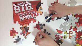 Paw Patrol * No Job Is Too Big * Unboxing Surprise Puzzle
