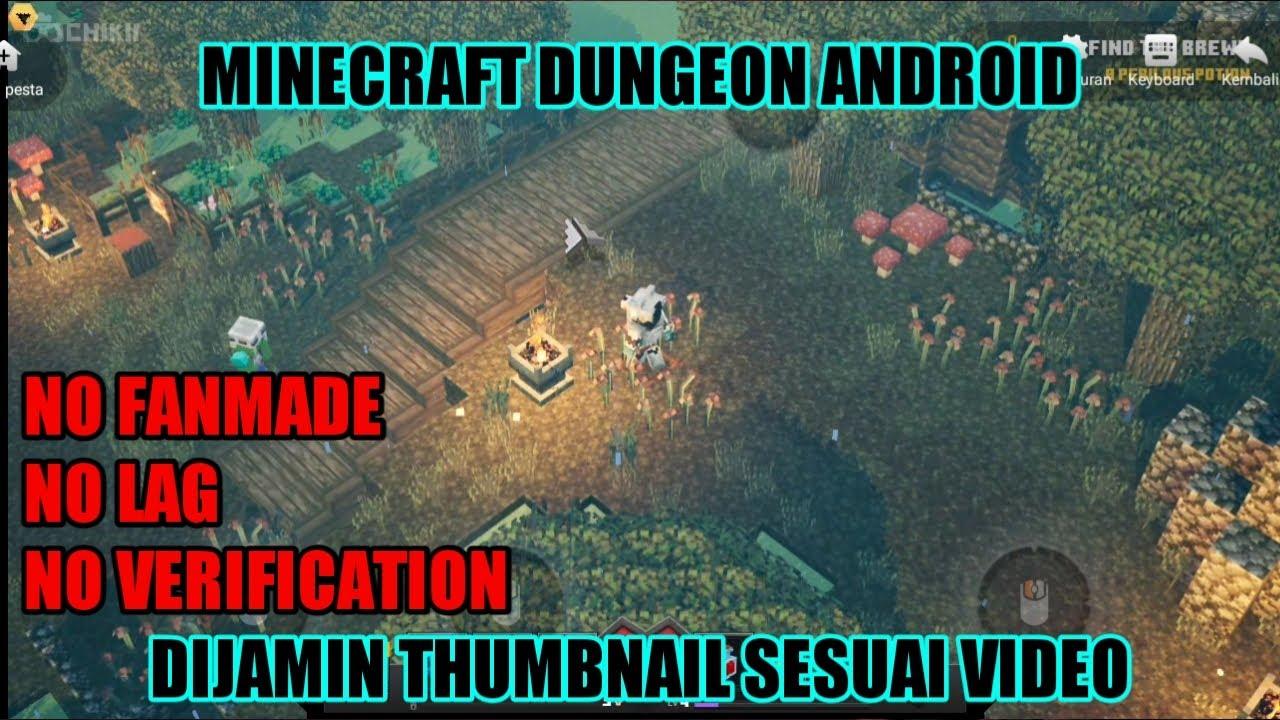 akhirnya minecraft dungeon rilis di android