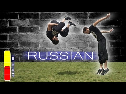 How to RUSSIAN Front Flip