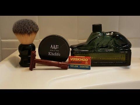 Traditional Wet Shaving - Khalifa Shaving Cream