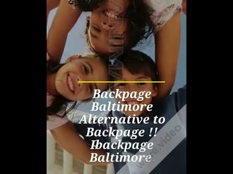 Backpage Baltimore Alternative To Backpage Ibackpage Baltimore