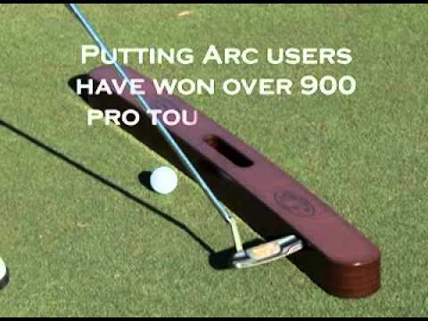 The Putting Arc: Golf's Number One Golf Putting Practice Aid