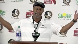 Florida State Seminoles head football coach on win over BC