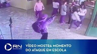 Vídeo mostra momento do ataque em escola de Suzano (SP)