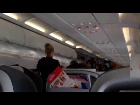 Pegasus Airlines- LGW TO SAW- full flight