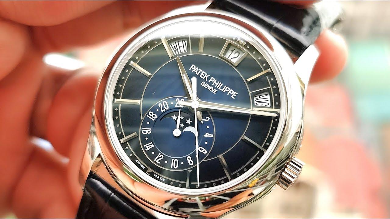 [Đồng Hồ Tuyệt Phẩm] Patek Philippe Annual Calendar Moonphase 5205G-013 | ICS Authentic