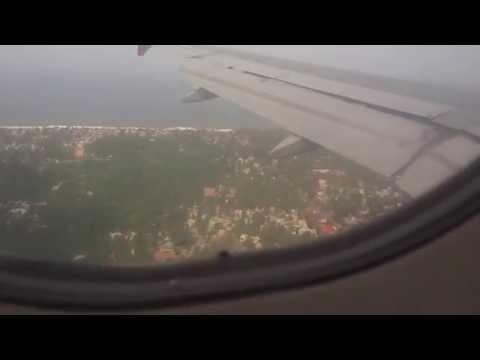 Air India Landing at Trivandrum