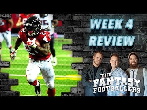 Week 4 Review, Studs and Duds Ep. #104 - The Fantasy Footballers
