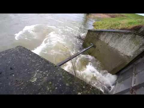 Hoog water 2018 Ochtend, Dodewaard, Lent, Nijmegen