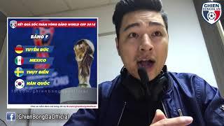 Review Fun | Chết cười với màn phân tích cục diện các bảng tại World Cup 2018