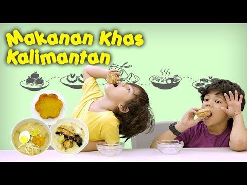 KATA BOCAH tentang Makanan Khas Kalimantan (Bingka, Soto Banjar, Sari Muka)   #27