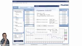Forex - jak otwierac pozycje w Plus500