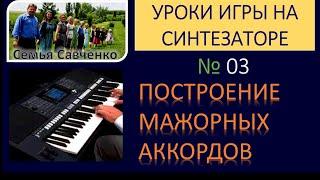 Как играть на синтезаторе №03 / Научиться играть на синтезаторе / Алексей Савченко н