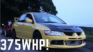 375WHP MITSUBISHI EVO| MODIFIED CAR REVIEW