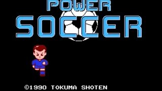 Power Soccer (1990, NES) - Full Longplay