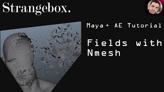 MAYA Tutorial : Using a Dynamic Field with Nmesh