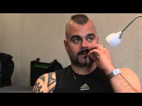 Sabaton interview - Joakim (part 2)