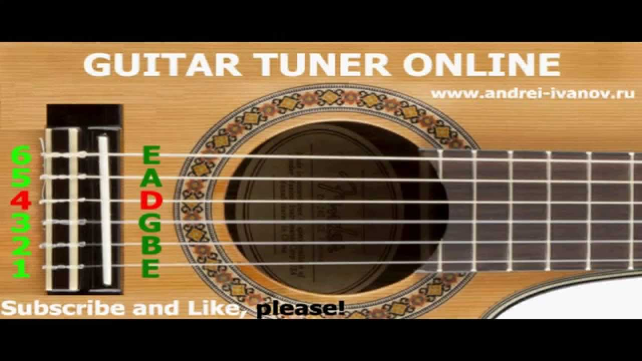 Tune Guitar Tuner Online For Tuning Acoustic Guitar In