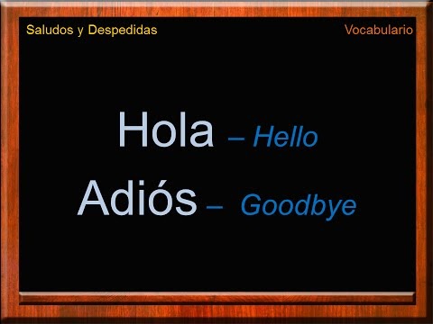 How do you say be home in spanish hello friend