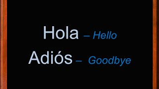 Greetings and Farewells in Spanish | Hello & Goodbye in Spanish | Spanish Vocabulary | Learn Spanish