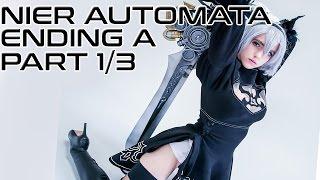 NieR Automata FULL Playthrough Ending A - Part 1/3 [STREAM]