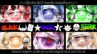 Black Rock Shooter TV 2012 - Opening Full (Karaoke + Sub Esp. Adaptado) + Descarga HQ