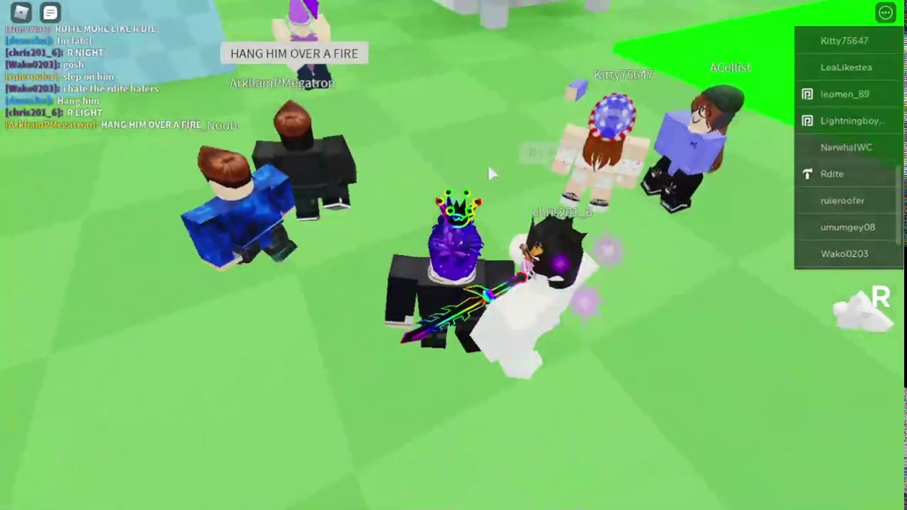 Roblox Dev Rdite Is In My Game Youtube
