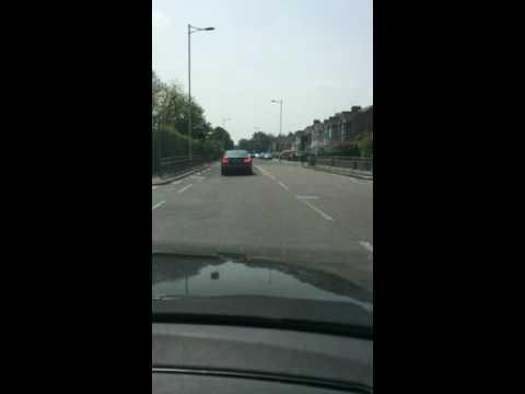 london ilford agressive driving