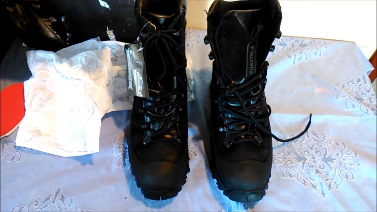 4bf2a72e03c79 Unboxing Bota Guartelá Attack III Dry - YouTube