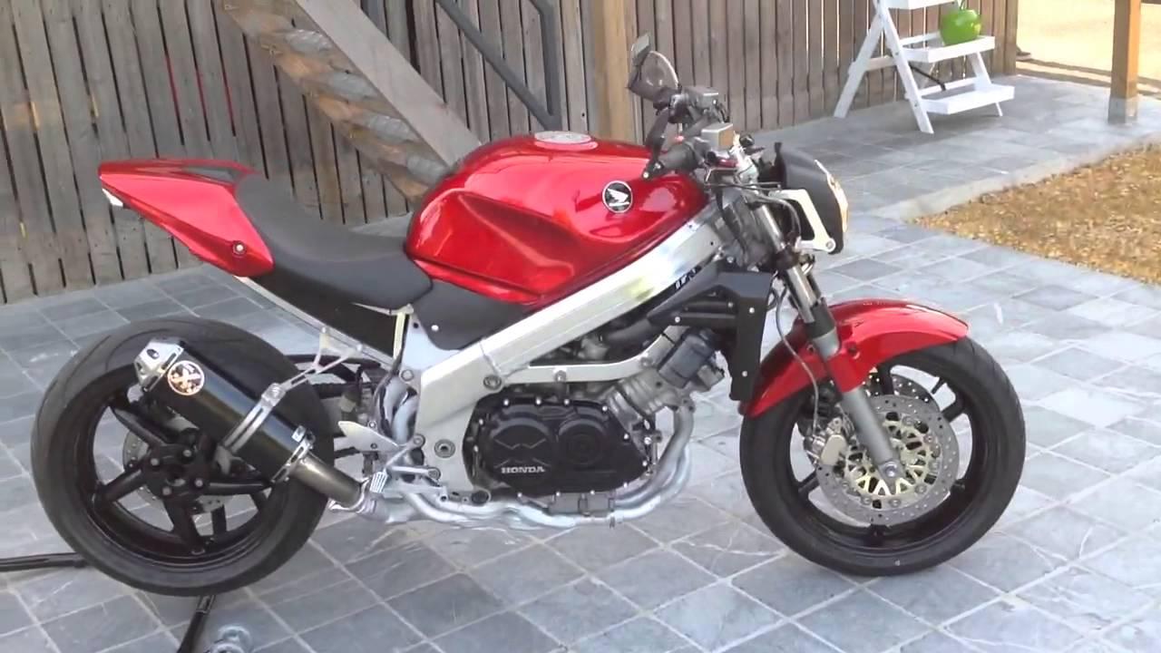 streetfighter custom bike honda vfr 750 youtube. Black Bedroom Furniture Sets. Home Design Ideas
