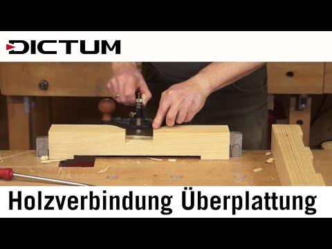 Christbaumständer selber bauen - Holzverbindung: Überplattung - DICTUM Tutorial