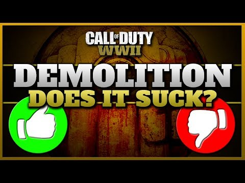 Is Demolition any Good in CoD WW2? | What would I Change?