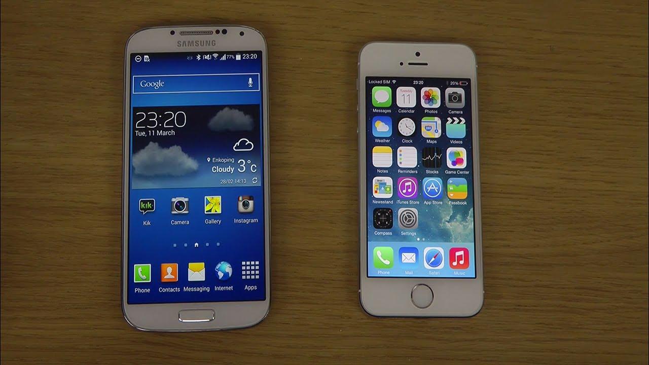 iphone 4 vs 5s